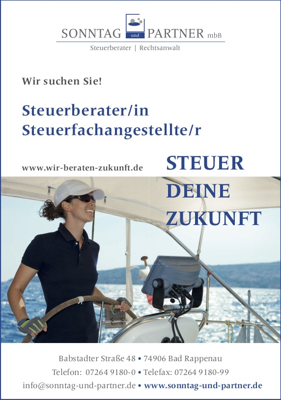Steuerfachangestelle Bad Rappenau Job